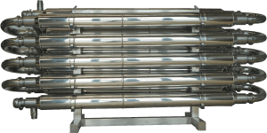 DRW Double Pipe Heat Exchanger for Cooling Must, Juice and Beer